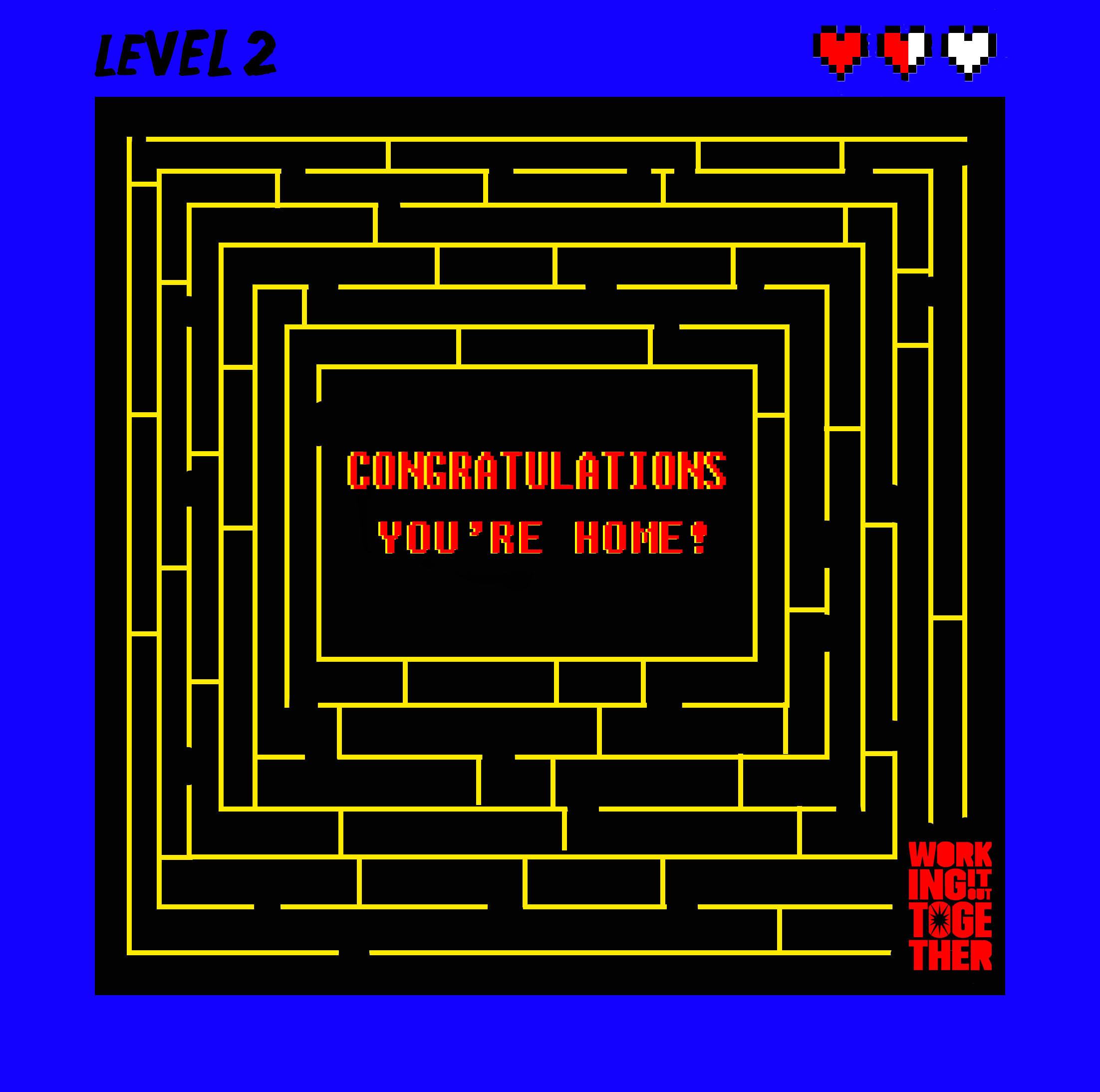 YOU'RE HOME
